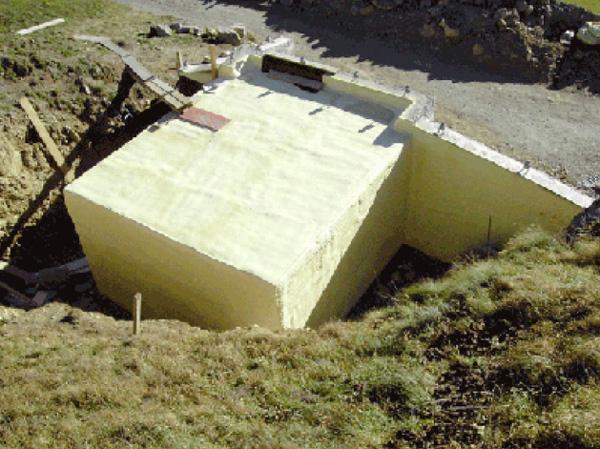 Isolazione garage interrato cecini lavori edili sondrio - Garage interrato ...